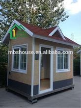 Modern eps panel wall with metal decorative panel modular prefabricated beach house