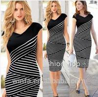 2014 Latest Modern American&European pencil dress Style High Range Temperament pencil dress