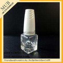 2014 empty nail polish clear glass bottle decoration