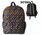 Custom promotional women printing backpack bags manufacturer china