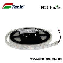 Led strip light 5m 5050 smd 300 led dc 12v waterproof 12v China factory