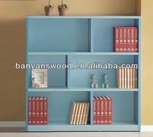 2014 New Design 6 Cube Modern Wood Bookcase/Furniture Wooden Bookshelf/Wooden Book Shelf