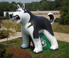 inflatable promotional dog,PVC dog toy inflatable model
