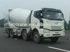 2014 hot selling semi-trailer cement mixer, concrete mixing truck
