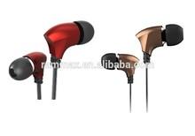 Zinc-alloy earphones with Hi-fi sound performance