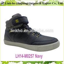 2014 JINJINAG Fashion High Cut Men Sneaker