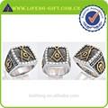 Custom anel maçônico, maçônica cavaleiros templários anel, maçônica anel de sinete