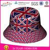 Fashion stylish cool colorful custom printed bucket hat