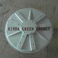 3kw 100 rpm para fora do rotor de baixa velocidade imã de terras raras gerador de corrente alternada