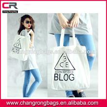2014 custom printed stylish cotton tote bags, cheap custom printed cotton bag , printed cotton tote shopping bag