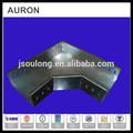 Auron/heatwell acero inoxidable actual caja de plomo/alambre eléctrico de ángulo recto conjunta vietnam/ss eléctrico cable de puente bailey