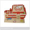 Ookee exterior- brinquedo modelo de garagem