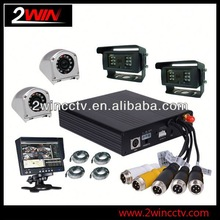 Cheap Prices!! 64GB 3G Vehicle CCTV Mobile security 4ch dvr