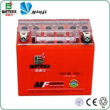 motorcycle parts Maintenance free automotive battery