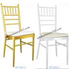 rental aluminum tiffany chair with cushion