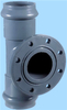 pvc sanitary fittings tee for water pipes