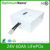lithium ion 24v 60Ah battery packs