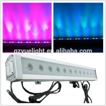 12pcs 36W RGB 3 in 1 rgb led wall washer Waterproof Wall Washer Led Linear Light Bar