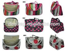 New Cosmetic Travel Make up Hand Case Bag Purse Silk Satin Nice Bag