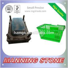 Hangzhou MANNING STONE Quality Assurance Plastic Crate Injection Mold Supermarket Basket Mould