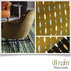 Best seller SGS certified Furniture textile Exotic design sofa fabric samples