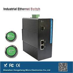 Anti Vibration, Isolation ,Surge Protection, Redundant Ring POE managed Industrial network switch