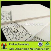 18mm pvc foam core board laser printing pvc sheet for slab formworks