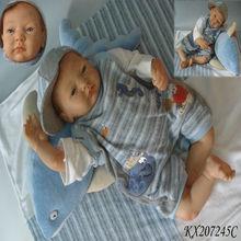 Bonito feito sob encomenda Soft renascido Baby Dolls 20 polegada boneca de silicone bonecas Reborn bebê para venda