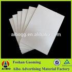 18mm pvc foam core board color pvc flexible plastic sheet for slab formworks