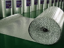 Single Bubble Foil Duct Insulation Wrap