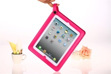 Soft Silicone Moster portable Tablet Cases For Ipad 2 3 4