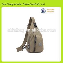 Khaki leisure messenger bag, travel bag-HDJ376