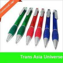 Hot selling Cheap advertisement ball pen plastic twist pen