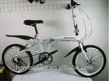 20 inch 6 speed folding bicycle pocket bike