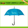 curved handle auto open pet dog umbrella