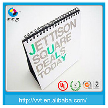 2014 printing mini table paper calendar