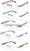 Italy design rimless glasses