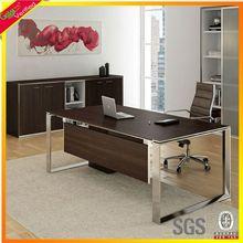 Teak Oak Cherry white high gloss office desk,office furniture office area
