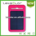 Hot selling mobile phone 8000mah power bank compete silicon case, waterproof and crashproof solar charger