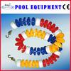 China guangzhou factory swimming pool 110mm rgb lane ropes line floats
