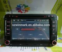 """DH7048 7"""" Car Audio for VW Magotan Jetta Golf Passat Touran with Phonebook iPod Bluetooth"""