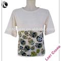 dernière mode charme occasionnelsprix crochet à la main blouse