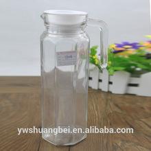 high transparency glass jar, juice pitcher