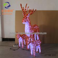 elegant shape flashing christmas decorations