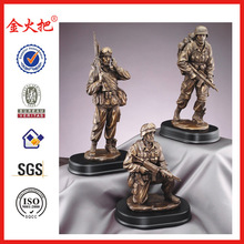 resin figures of military type