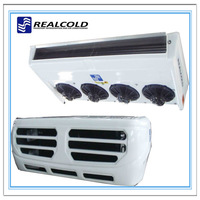 high cooling capacity transport refrigeration equipment with R404a refrigerant
