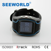 S680 SEEWORLD Golf/sprot/hiking gps watch tracker for personal use with Fast dail function