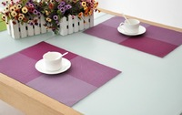 TW364 coffee table placemats & plain white placemats