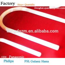 Quartz produit Quartz tube U plié Quartz tuyaux