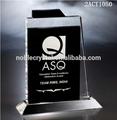 Alta calidad K9 cristal trofeo placa con grabado
